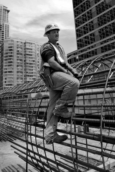 Construction worker, Toronto