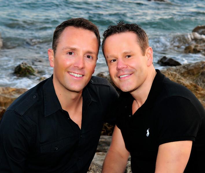 Partner portrait photo shoot, Corona Del Mar, CA.