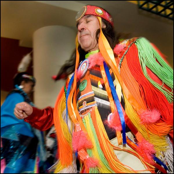 Native Canadian dancer