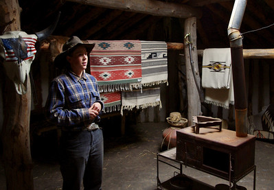 This Colorado cowgirl was very knowledgeable about the displays at the White Mountain Trading Post Living Museum, and her guided tour was informative and delightful.