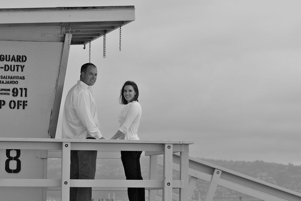 Engagement portrait.