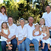 Extended family holiday portrait. Lake Forest, CA
