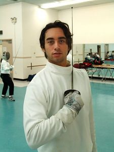 Daniel Sebastian Cano-Besquet This is an amazin guy whom I met briefly during the summer seesion of Conejo Fencing club, just before he went off to Yale. He made a great impression on me when we first crossed the swords. Later I realized he's much more just a college boy: just read this article: http://www.theacorn.com/News/2005/0511/Community/028.html.