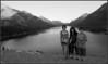 Tina, Harumi and JJ at Wateron Lakes National Park in Canada