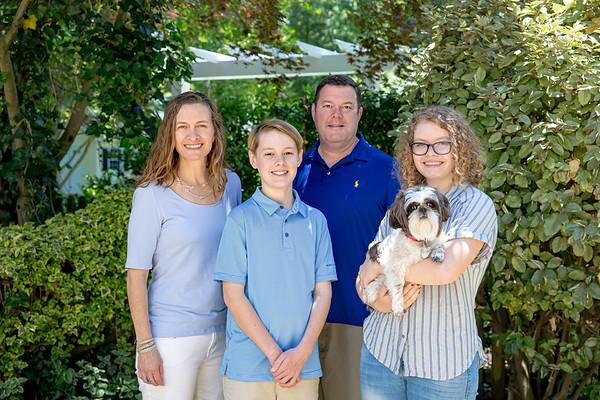 Family Quarantine Porch Portrait
