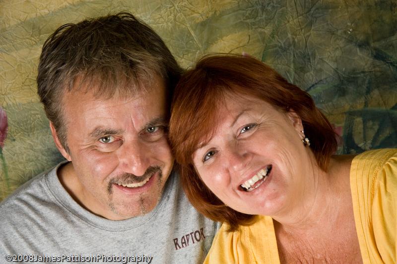 Mark & Darlene...casual