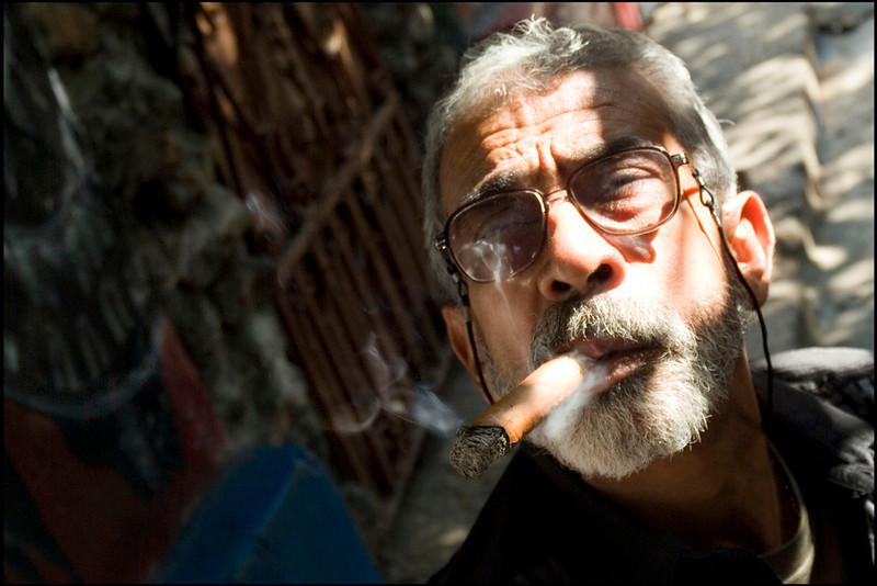 Salvatore Gonzalez, artist, Havana