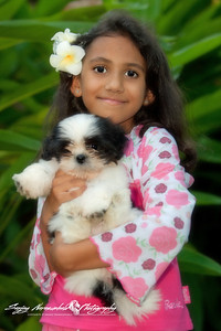 Vasantha with Misty in Thailand October 29, 2005