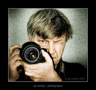 Self portrait by Andrew Zemek, London, UK