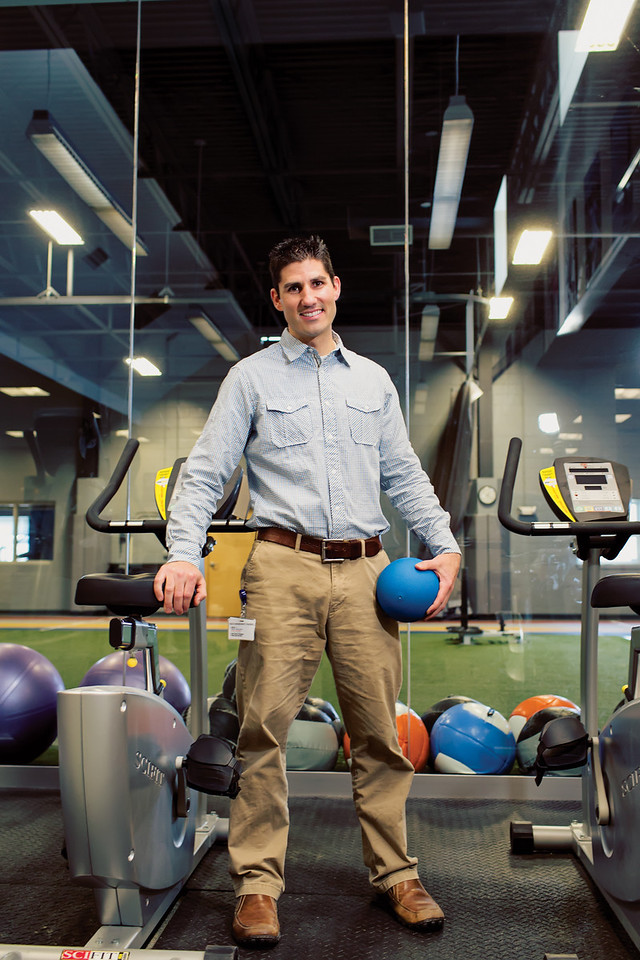 Jared Buzzell Maine Magazine, Wellness Profile June 2013
