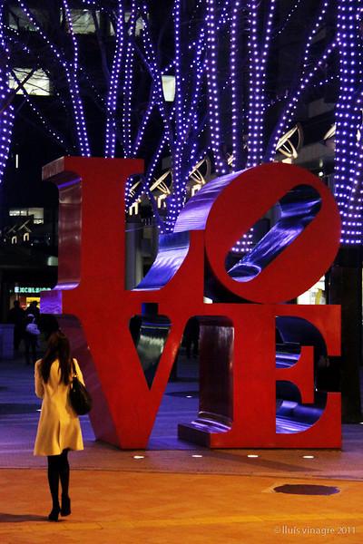 robert indiana's love / ロバートインディアナのラブ