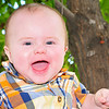 Baby Luke - six month old baby portrait.
