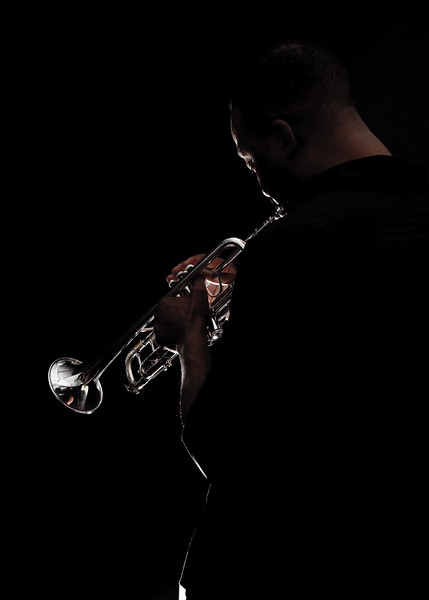 Trumpeter Vince Womack