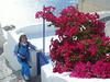Vicki Athens in Mykonos