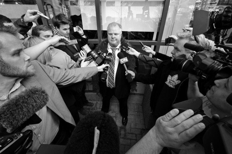 Rob Ford, Toronto Mayor, May 2013