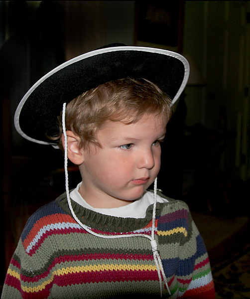 Cowboy Luke- my grandson, 2 1/2 years old- such a delight for us !