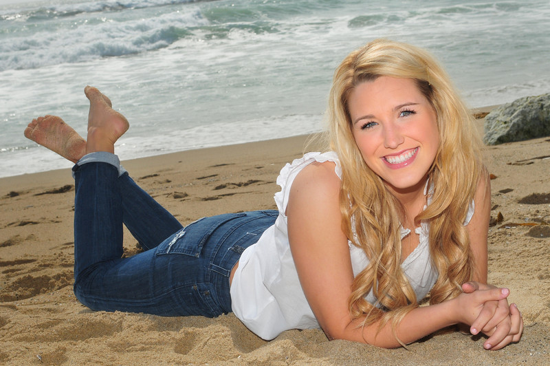 "Dylan - Outdoor ""scenic"" Senior Portraits.  Manhattan Beach, CA"