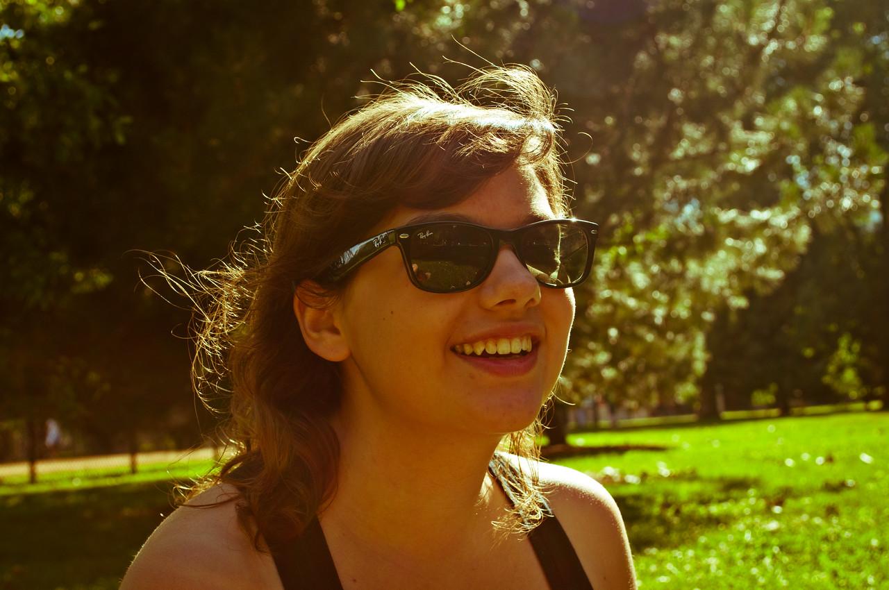 Elise in Oz Park