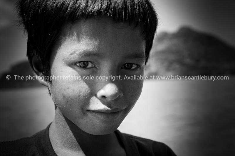 Sea gypsies of Sabah Borneo