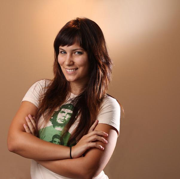 """The Sarah Palin Pose<br /> <br /> Erica's blog <a href=""""http://www.concretecavewoman.com/"""">http://www.concretecavewoman.com/</a>"""