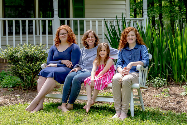 Kroll Family Porch Portrait