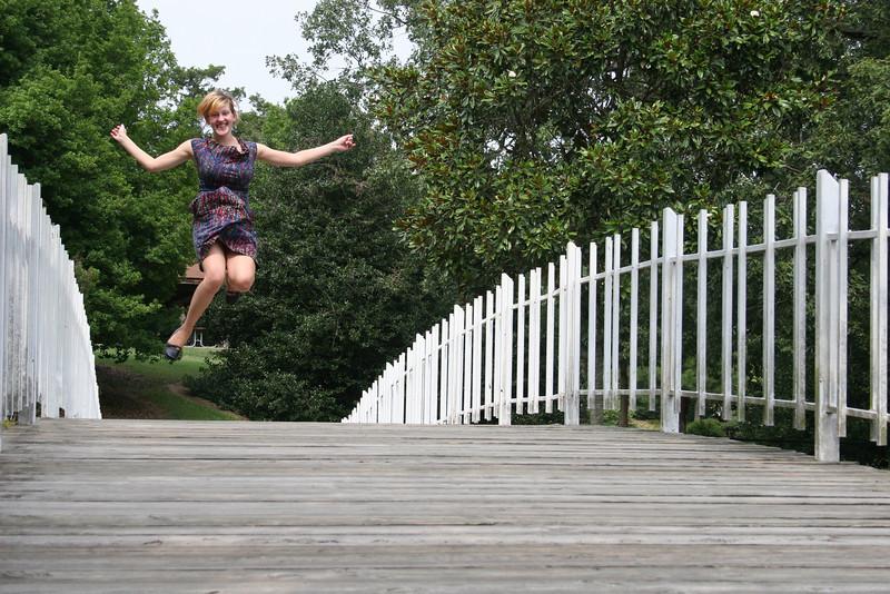 Nicole's leap!