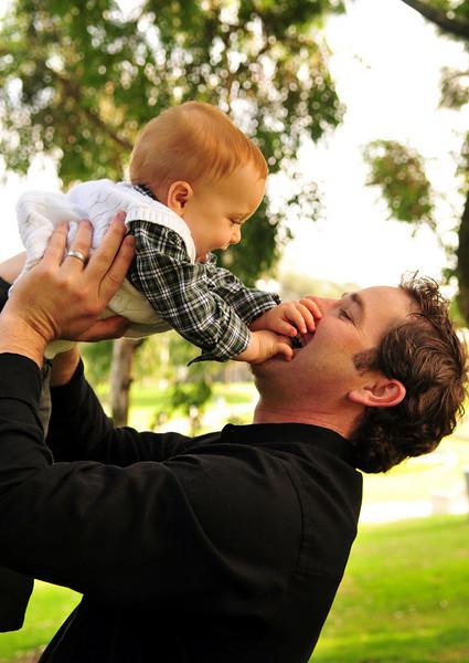 Father & Son Portrait.
