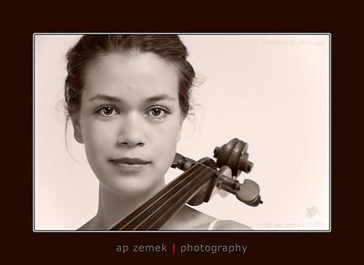 Cellist Genevieve Verhage, London, UK
