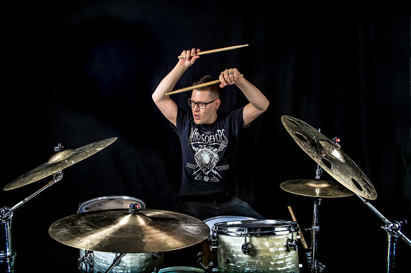 Tom Gascon - Lacey Sturm's drummer