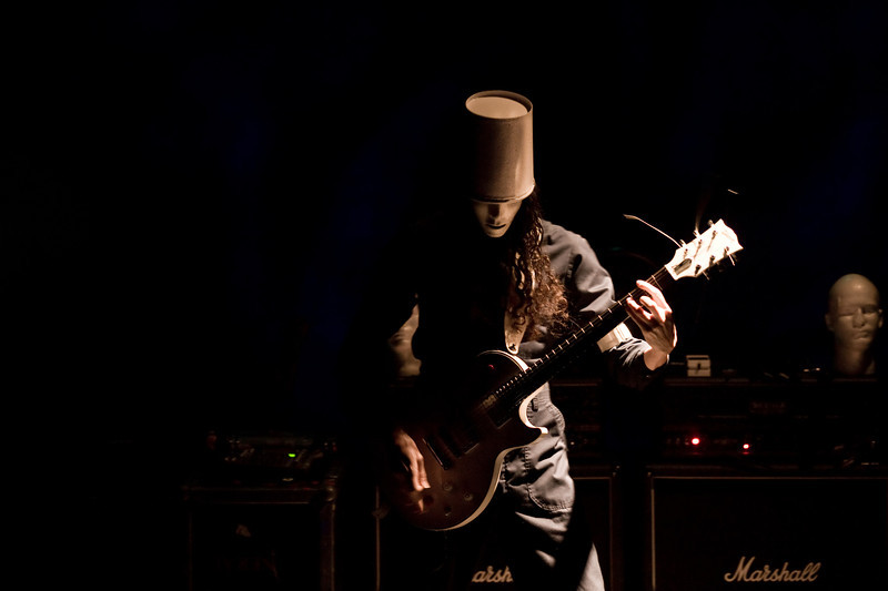 Buckethead concert in Crested Butte.