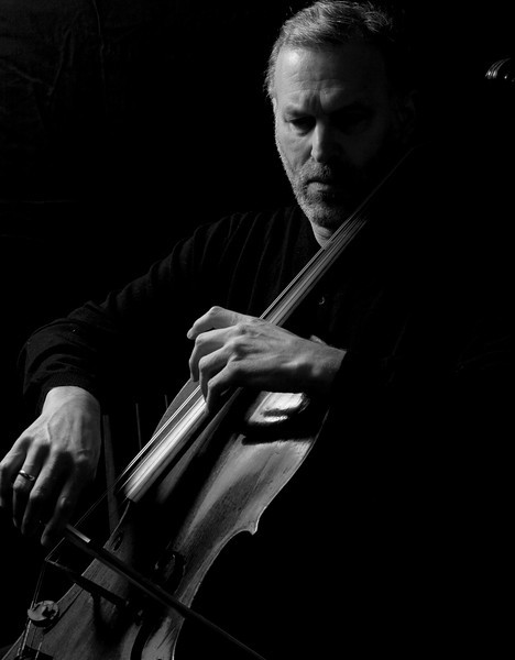 Cellist, Richard L. Aaron, of the University of Michigan School of Music and the Juilliard School