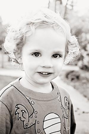 Children's Birthday Portraits - Burke