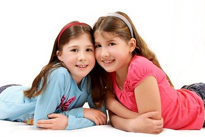 Portraits of Children-Maggie and Lizzie