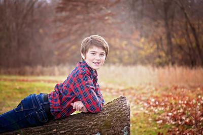 Children's Birthday Portraits - Howard S