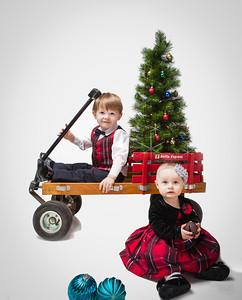 Children's Christmas Portraits - Isajewicz Christmas
