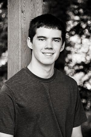High School Senior Portraits-Davis C