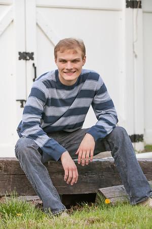 High School Senior Portraits-Armstrong E