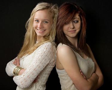 Heidi and Olivia