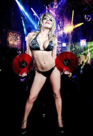 Model - Nicolle Clark - AKA DJ Nikki Stylz Hair & MUA - Denise Baumann