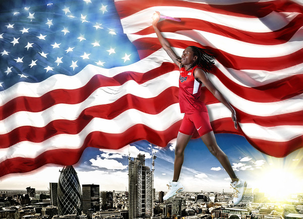 Brittney Reese 2012 Olympic Gold Medalist