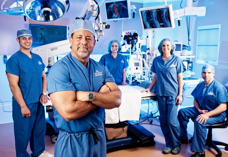 Dr. Mark Giovanini  NeuroMicrospine Specialist The Andrews Institute Pensacola, FL  www.theandrewsinstitute.com