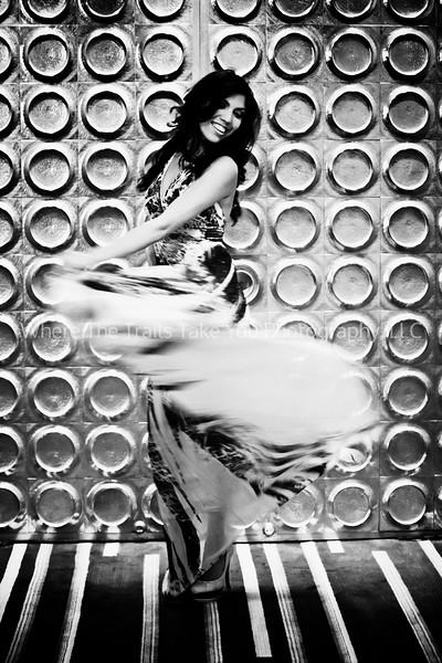 Dalila's Swirling Dress