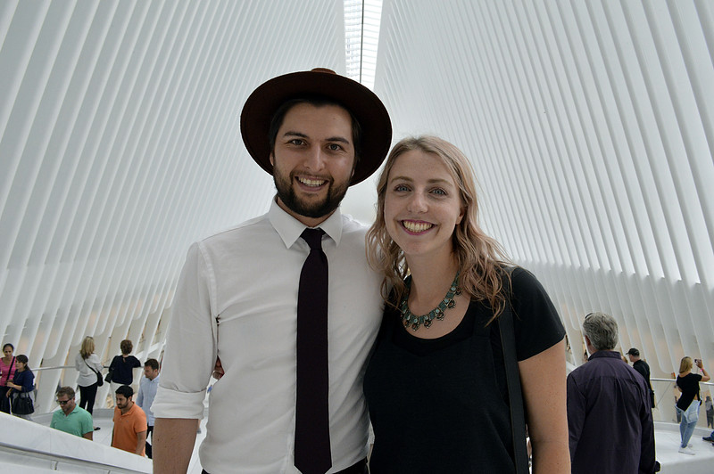 Australian Couple at the Oculus