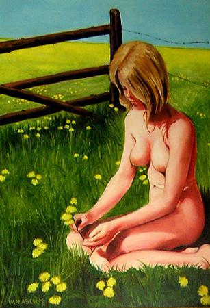 Portretschilder 'Michel Van Asch'...