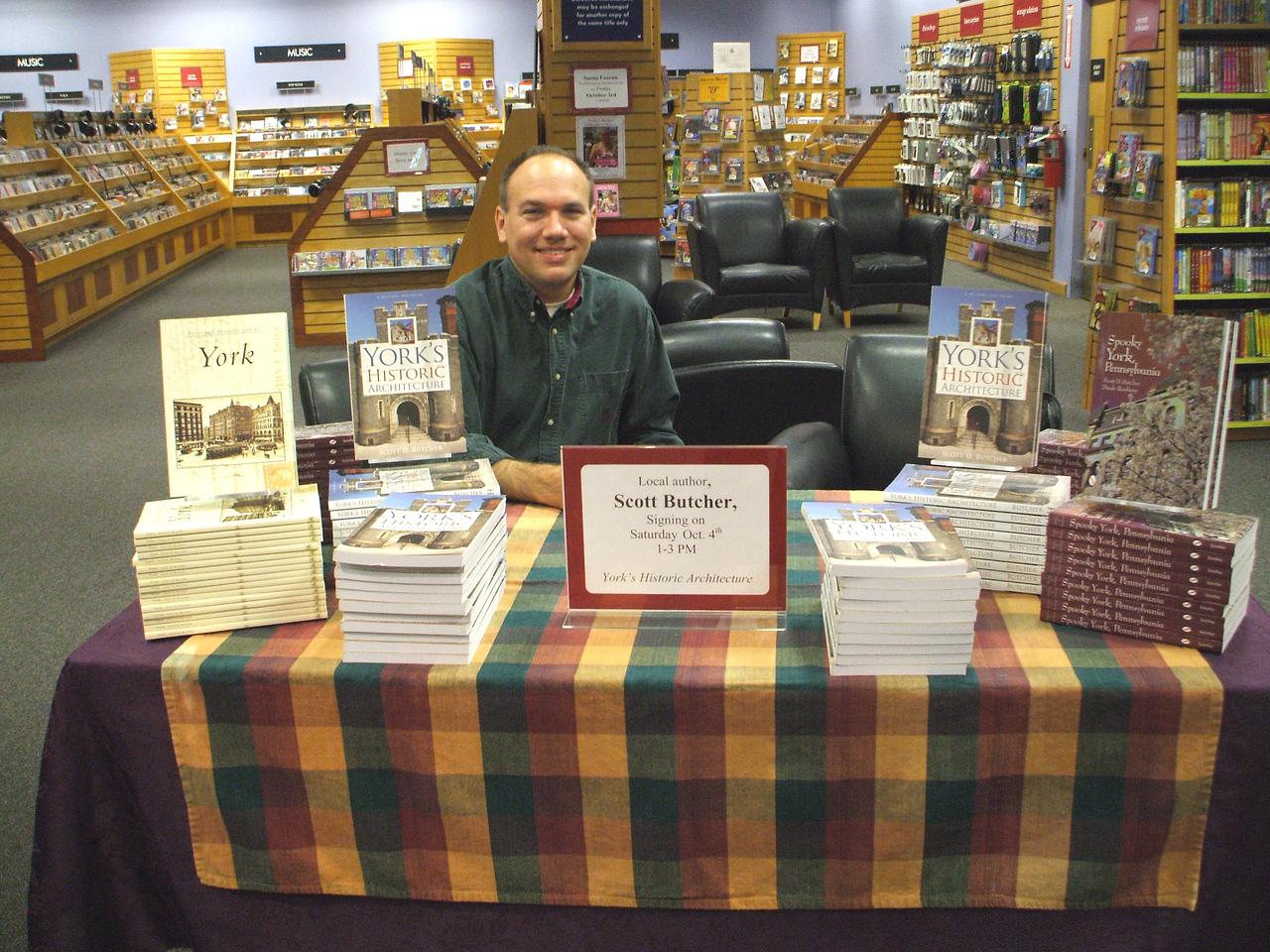 Scott D. Butcher - Book Signing - Horizontal
