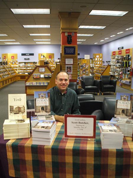 Scott D. Butcher - Book signing - vertical.
