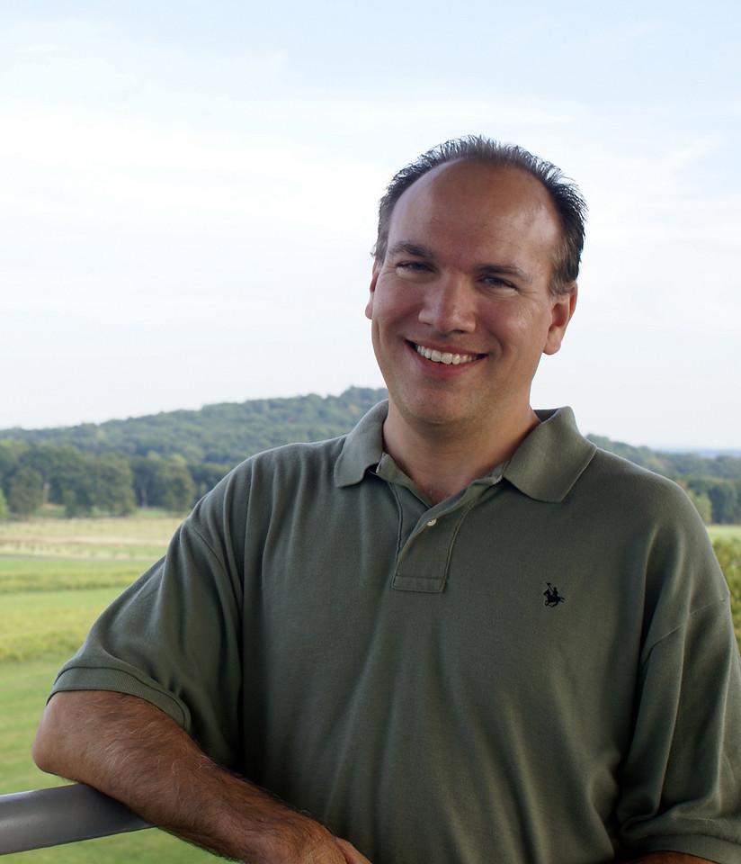 Scott D. Butcher - casual portrait