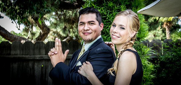 Marcos & Laura Prom 2014