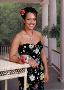 Elisabeth at 2005 Prom.