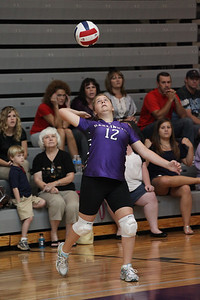 Darlington Middle School Volleyball game 2011